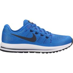 new style 98008 15135 Deals on Nike Air Zoom Vomero 12 Running Shoes in Blue & White ...