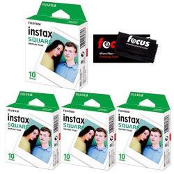 Fujifilm Instax Square Film For SQ10 Cameras 2 Pack 20 Sheets