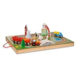 Melissa & Doug Take Along Vehicle Set - Farm