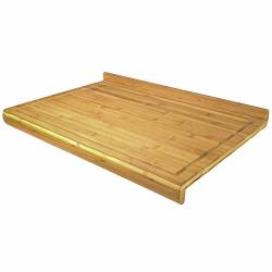 Noodle Board - Bamboo Wooden Pastry Board Or Cutting Board For Rolling And Kneading Dough