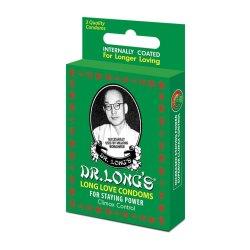 Dr Long's Condoms 3'S Long Love