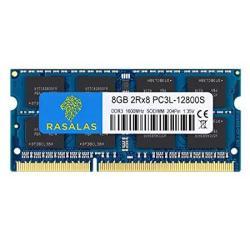 8GB DDR3 8GB 1600 DDR3 Rasalas PC3L-12800S DDR3L 1600 Mhz 2RX8 PC3L-12800S 8GB 1.35V 204-PIN CL11 Dual Rank RAM Laptop Chips
