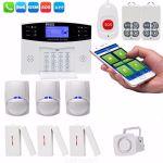 Wireless CS85-BD GSM Home Burglar Alarm System Diy Kit Smart Security Protection Alarms Apparatus U