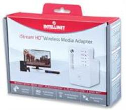 Intellinet Wireless 300N Istream HD Media ADAPTER-300 Mbps 525282