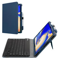 new style 776f6 af200 Bluetooth Keyboard Case For Samsung Galaxy Tab S4 10.5 2018 Model SM-T830  T835 T837 Leather Stand Cover Navy | R | Electronics | PriceCheck SA