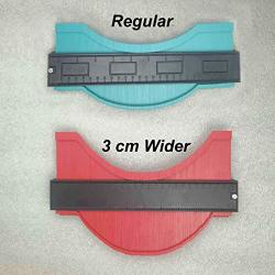 1pc 10inches Contour Profile Gauge Contour Gauge Duplicator Edge Shape Tracing Template Measuring Tool