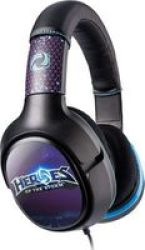 Turtle Beach Ear Force Heroes Of The Storm Over-ear Gaming Headphones For PC Black