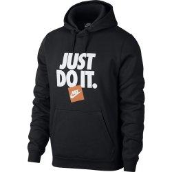 Nike Men's Sportswear Just Do It L S Fleece Hoodie