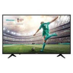 """Hisense 43A6100UW 43"""" UHD Direct LED Backlit Smart TV"""