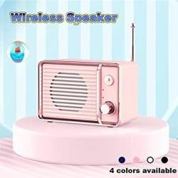 Portable Wireless Vintage Radio Retro Bluetooth Speaker Unine High Definition Audio Fm Radio With Old Fashioned Classic Style De