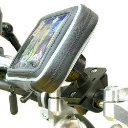 Arkon Premium Aluminum Motorcycle Handlebar Mount for Garmin nuvi GPS Devices