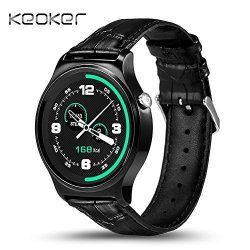 Keoker GW01 Bluetooth Smart Watch MTK2502 Heart Rate Monitor Fitness Tracker Call Reminder With MIC
