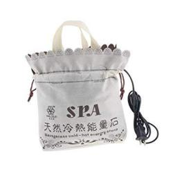 Prettyia Electric Hot Stone Heater Spa Massage Hot Stone Warmer Heating Bag For Body Relax Holds 16 Pcs Rock Stone