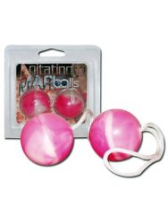 Agitating DUO Balls in Pink