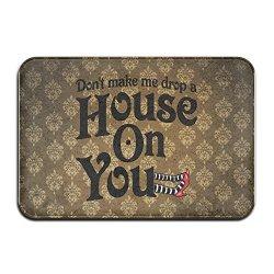 Brook Cad Drop A House On You Door Mats Outdoor Mats