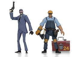 """NECA 45075 Team Fortress 2 7"""" Scale Action Figure Series Assortment Blue"""