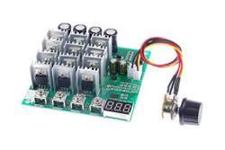 Knacro Pwm Dc Motor Driver 60A Dc 12V 24V 36V 48V 10-50V Forward Reverse Switch Tachometer Brush Motor Inverted Module Maximum P