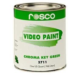 Rosco Chroma Key Paint 1 Quart Green