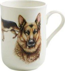Maxwell & Williams Cashmere Pets Dog German Shepeard Mug 300ML