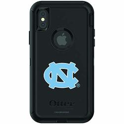 Fan Brander Ncaa Black Phone Case With School Logo Compatible With Apple Iphone Xr And With Otterbox Defender Series Unc Tar Heels