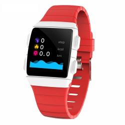 Sanda CR11 1.3 Inch Screen Smart Watch IP68 Waterproof Support Call Reminder heart Rate Monitoring blood Pressure Monitoring sedentary Reminder Red