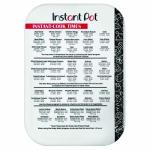 Instant Pot 5252279 Official 10X14 Cutting Mat With Cook Times 10X14-INCH White