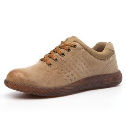 OFEFAN Work Steel Toe Shoes Safety Shoes for Men and Women Lightweight Industrial /& Construction Shoe