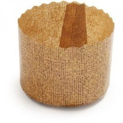 Others Brown ibili 746505 Disposable Panettone Moulds 500 Gr 5 Pc