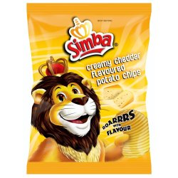 Simba Chips Creamy Cheddar Creamy 36 G