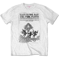 Pink Floyd - Games For May B&w Unisex T-Shirt - White Small