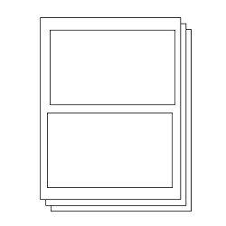 7-3 8 X 4-1 2 Paypal Ebay Shipping Labels - 2 Per Sheet 300 Labels 150 Sheets For Inkjet & Laser Printers Officesmartlabels