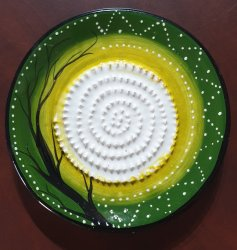 Green Nature African Grater Plate