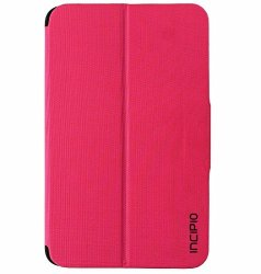 Incipio Clarion Series Protective Folio Case Cover For Samsung Tab E 8.0 - Pink