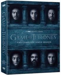 Game Of Thrones Season 6 DVD