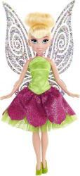Disney Princess - Fairies Tink Doll - Pink & Green Dress