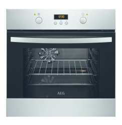 AEG 60CM Stainless Steel Eye Level Oven - BOB35702XV
