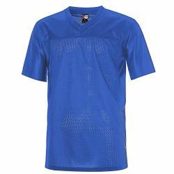 Molpe Plain Football Jersey Blue M