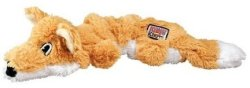 Kong Scrunch Knots Fox Dog Toy Small medium