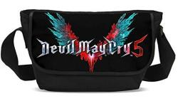Devil May Cry 5 Messenger Bags Dante Nero Dmc 5 Cosplay Shoulder Laptop Bags For Men Boys Girls
