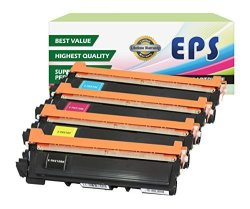 EPS Replacement Toner Cartridges Compatible With Brother TN210 Color Set B C M Y