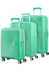 American Tourister Soundbox 3 Piece Set Mint Green