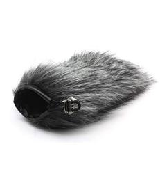 First2savvv TM-D100-G01 Outdoor Portable Digital Recorders Furry Microphone Mic Windscreen Wind Muff for Sony PCM-D100 Recorder