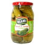 Miami - Sweet & Tangy Gherkins Jar 380G