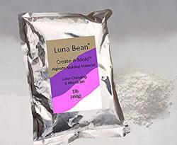 Luna Bean Create-a-mold Craft Alginate Molding Powder For Life Casting 1 Lb
