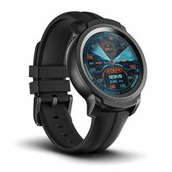 Ticwatch E2 Smartwatch Gps Waterproof 24 Hours Heart Rate Monitor Running On Wear Os By Google Black