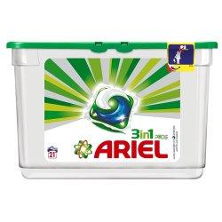 ARIEL Auto Wash Powder Power Capsules 21 Pack