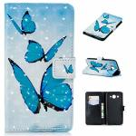 Abtory Huawei Y3 2018 Wallet Case Pu Leather Magnetic Snap Closure Case With Id And Credit Holder & Kickstand Function Protectiv