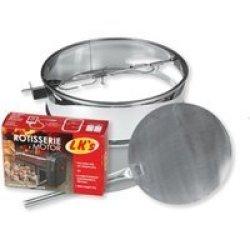 Lks Inc Kettle Braai Pizza & Rotisserie 57CM