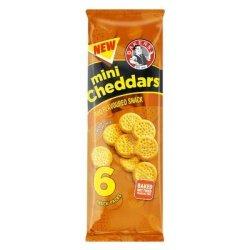 Bakers MINI Cheddar Bbq M p 198GR