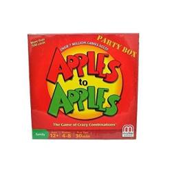 Apples To Apples Party Box - The Game Of Crazy Combinations family Edition
